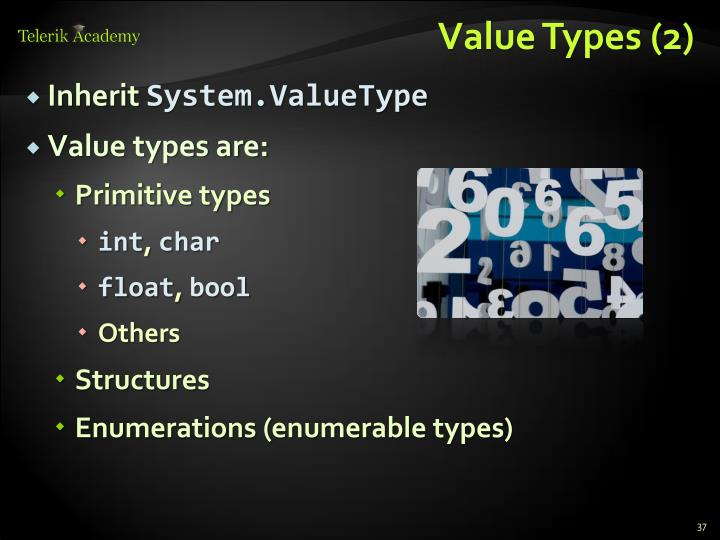 Value Types (2)