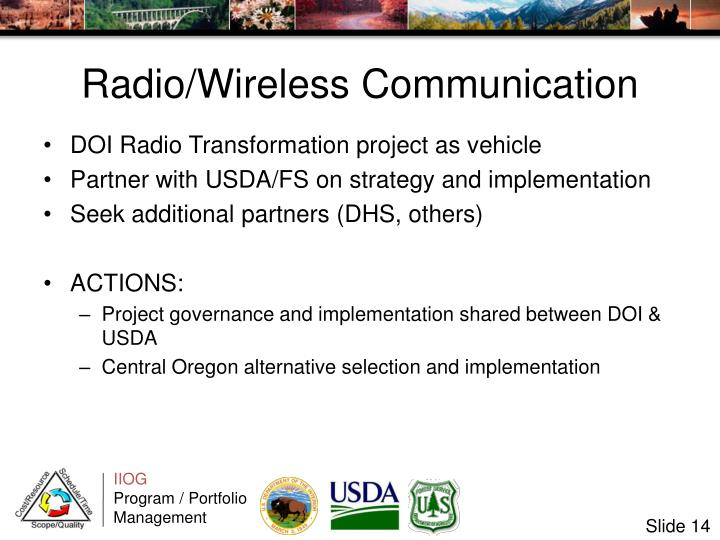 Radio/Wireless Communication