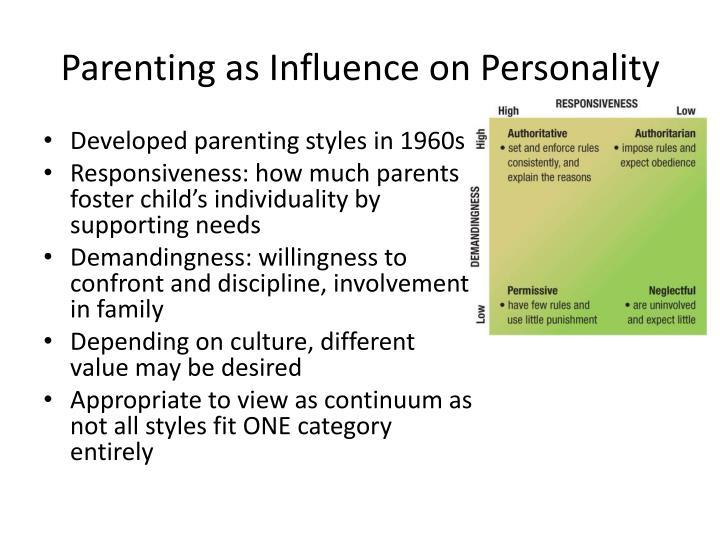 Parenting as Influence on Personality