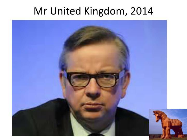 Mr United Kingdom, 2014
