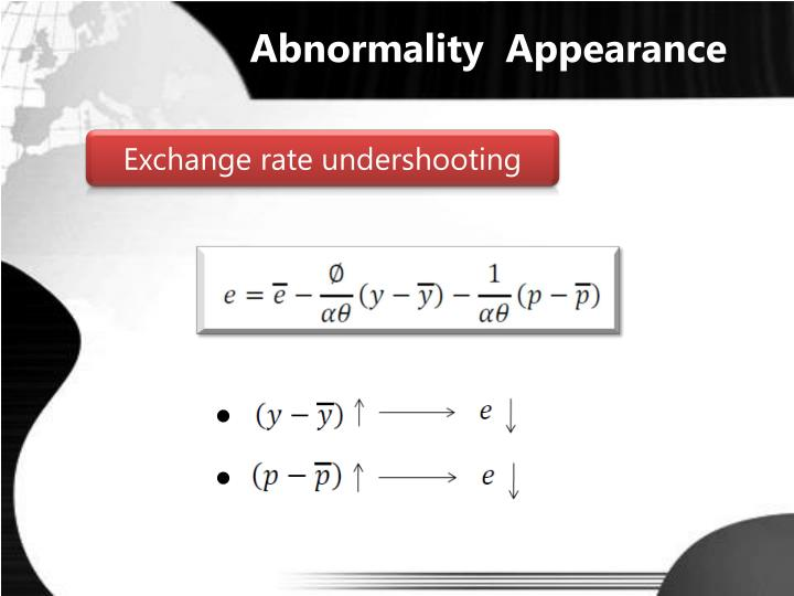 Abnormality  Appearance