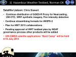 1 hazardous weather testbed norman ok