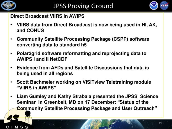 JPSS Proving Ground