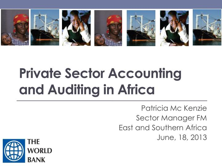 private sector accounting and auditing in africa