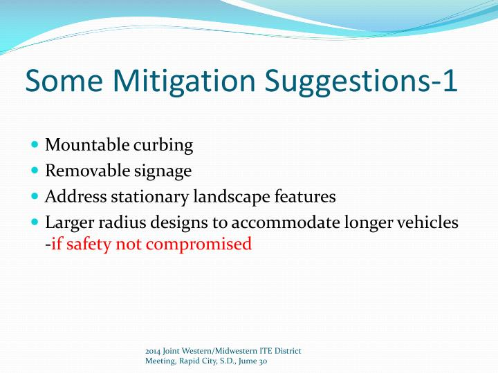 Some Mitigation Suggestions-1