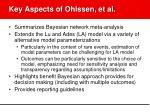key aspects of ohlssen et al