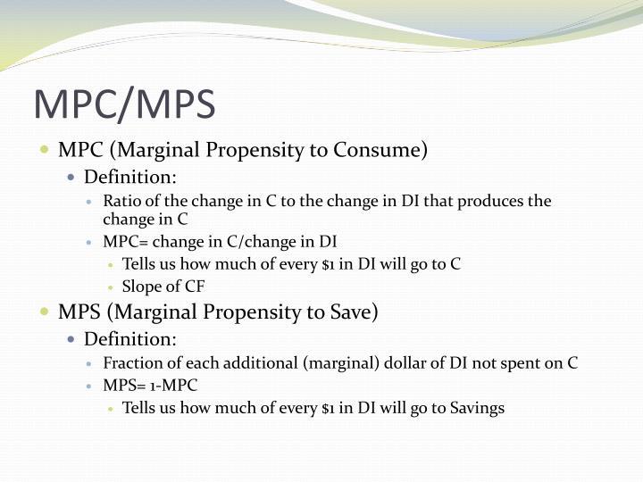 MPC/MPS