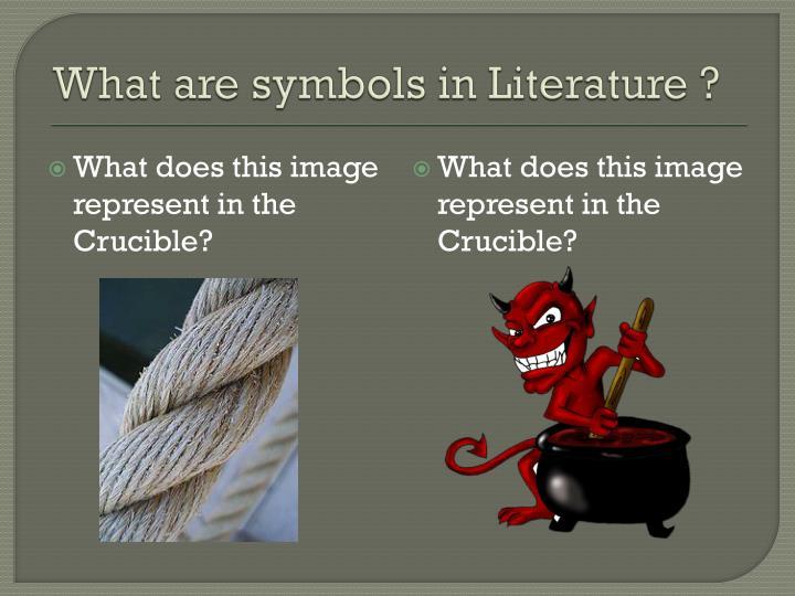 What are symbols in Literature ?