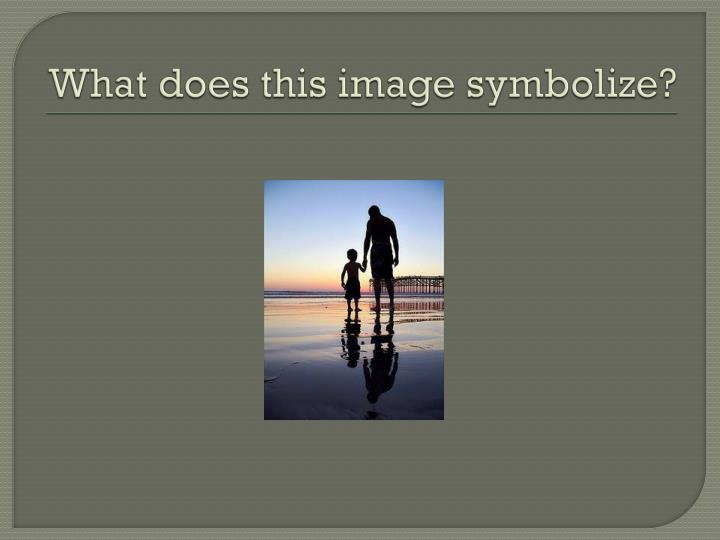 What does this image symbolize?