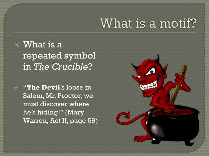 What is a motif?