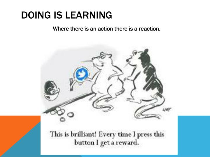 Where there is an action there is a reaction.
