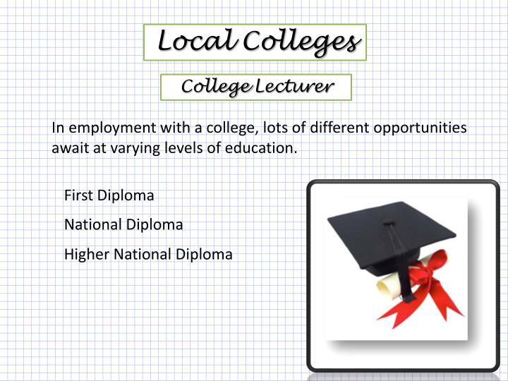 Local Colleges