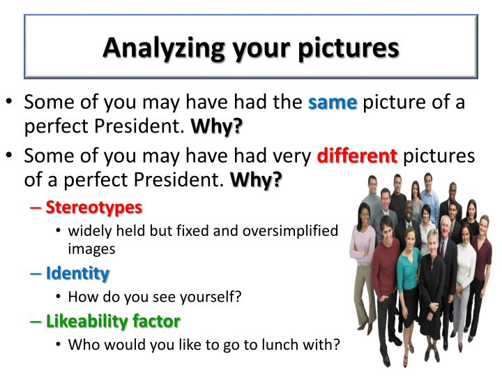 Analyzing your pictures