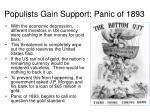 populists gain support panic of 1893