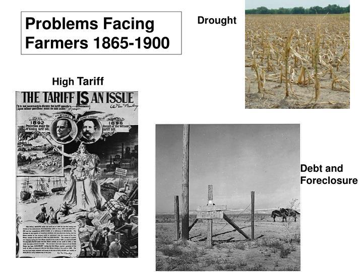 Problems Facing Farmers 1865-1900