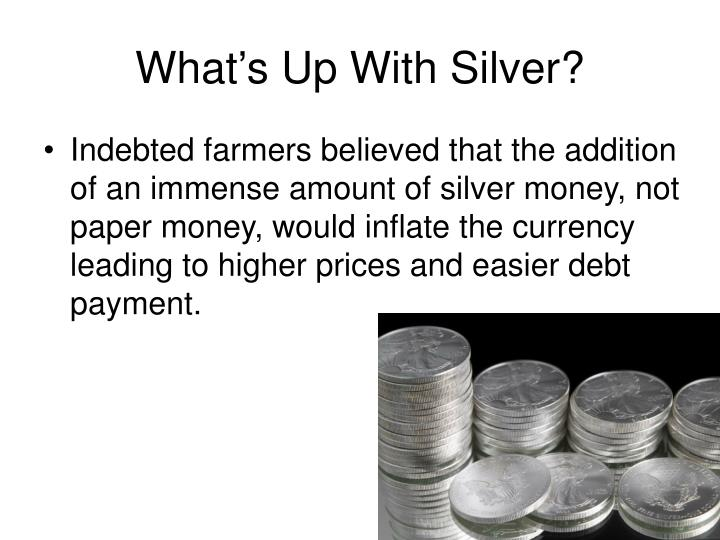 What's Up With Silver?
