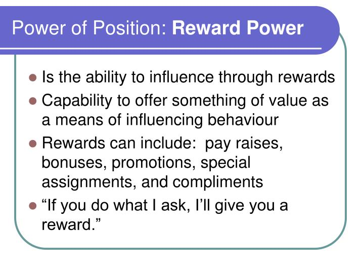 Power of Position: