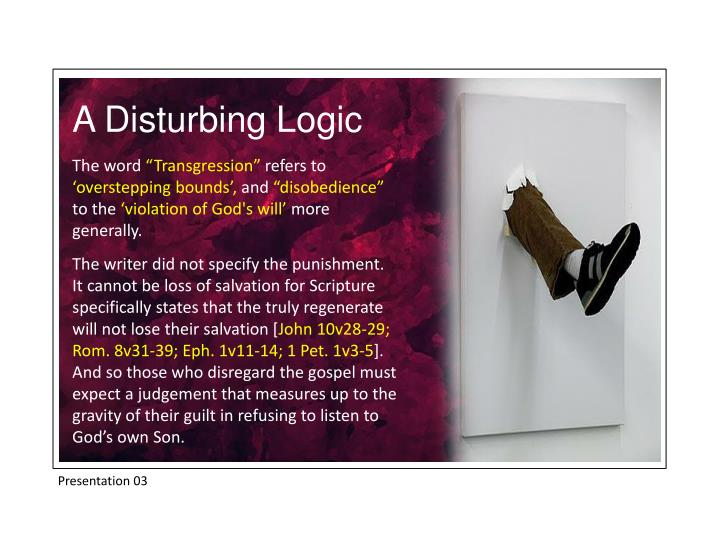 A Disturbing Logic