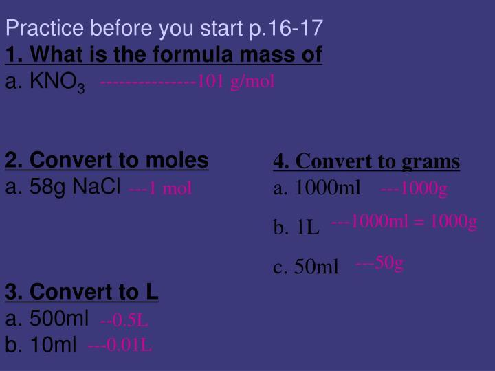 ---------------101 g/mol