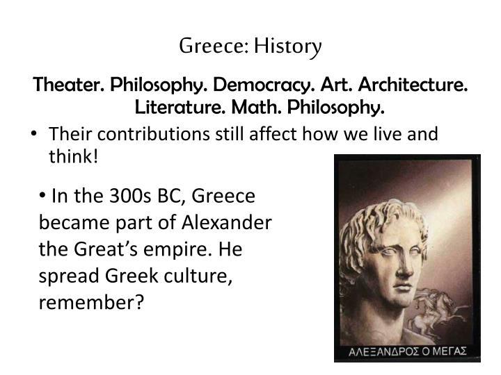 Greece: History