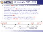 eu payments for aida