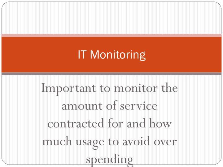IT Monitoring