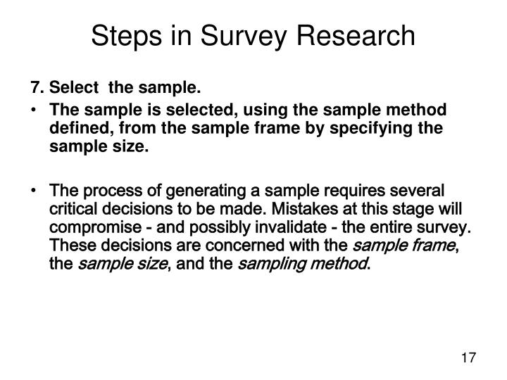 7. Select  the sample.