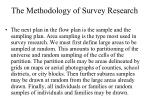 the methodology of survey research1