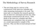 the methodology of survey research2