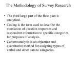 the methodology of survey research5