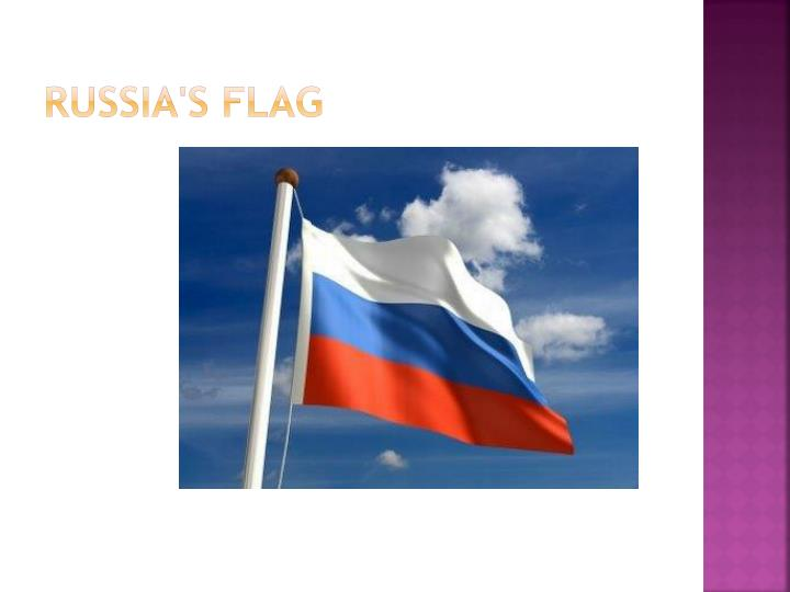 Russia s flag
