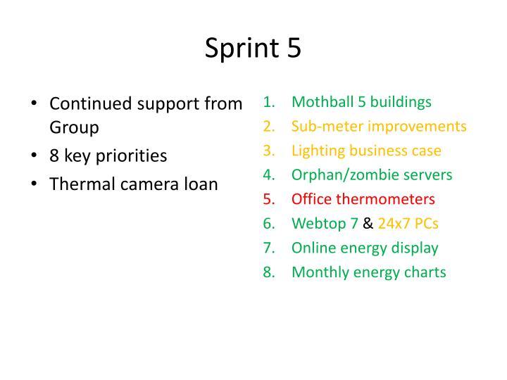 Sprint 5