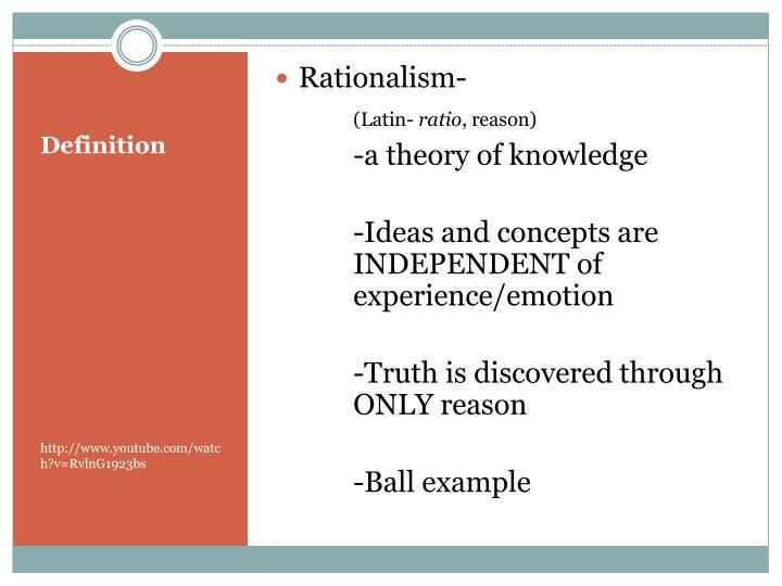 Rationalism-