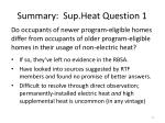 summary sup heat question 1