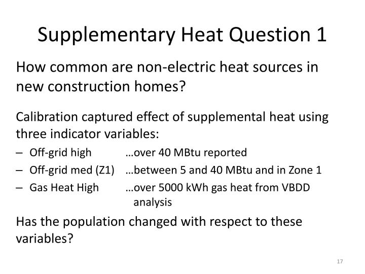 Supplementary Heat Question 1