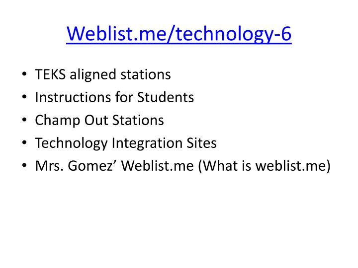 Weblist.me/technology-6