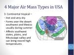 4 major air mass types in usa2