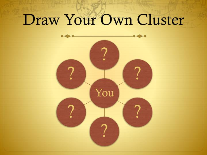 Draw Your Own Cluster