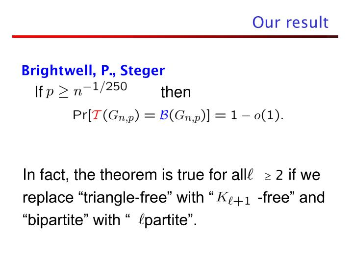 In fact, the theorem