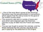 united states 1776