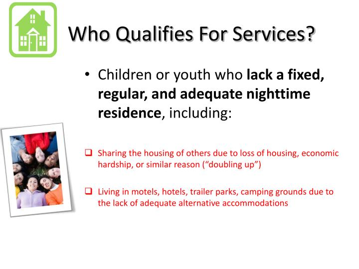 Who Qualifies For Services?