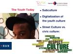 the youth today