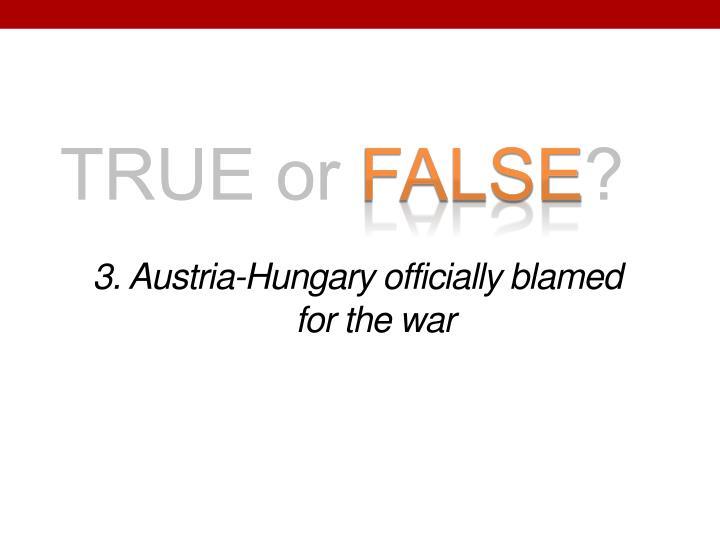 3. Austria-Hungary