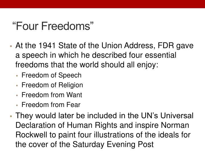 """""""Four Freedoms"""""""