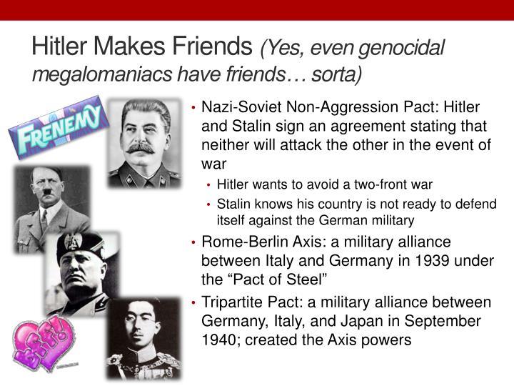 Hitler Makes Friends