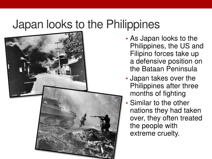 Japan looks to the Philippines
