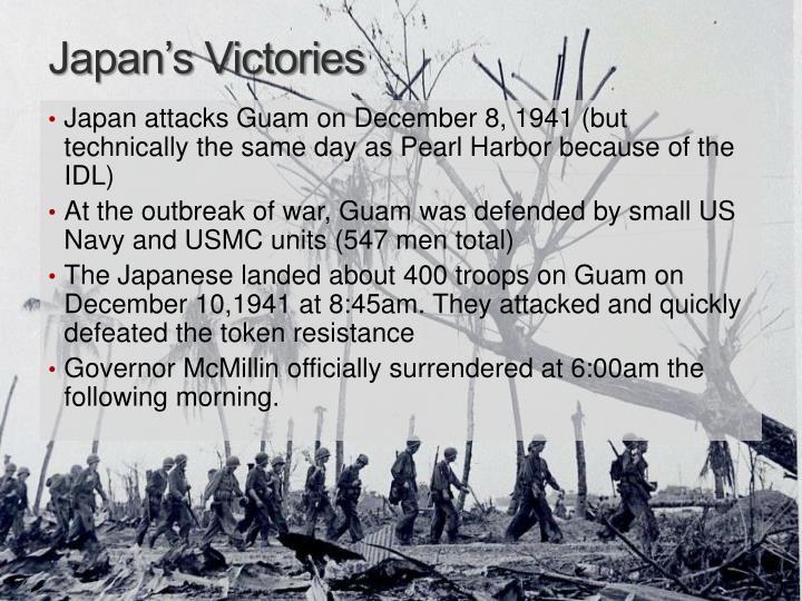 Japan's Victories