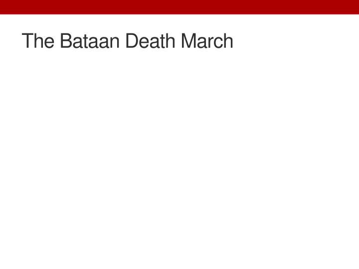 The Bataan