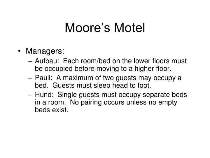 Moore's Motel