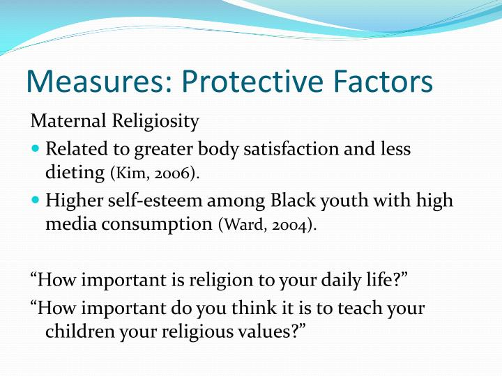 Measures: Protective Factors